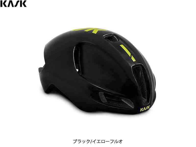 (送料無料)【KASK】(カスク)UTOPIA <ブラック/イエローフルオ> ヘルメット(自転車)2006427930010