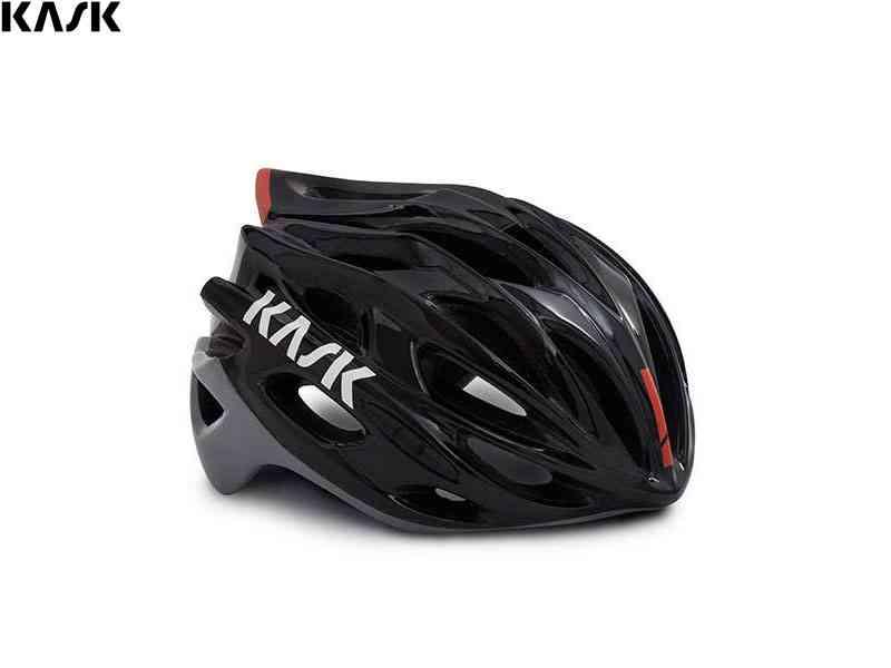 (送料無料)【KASK】(カスク)MOJITO X <ブラック/アッシュ/レッド> ヘルメット(自転車)