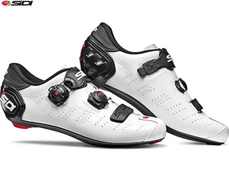 (送料無料)【SIDI】(シディ)ERGO5 MEGA(エルゴ5メガ)<ホワイト/ブラック> ロードシューズ(自転車 ウェア)spdシューズ