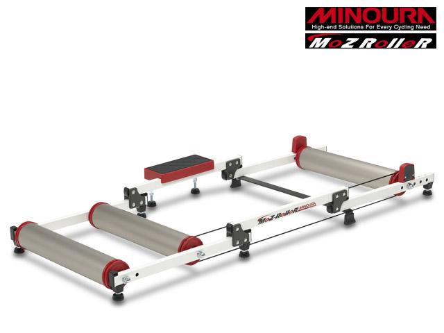 【土曜も16時まであす楽】【MINOURA】(ミノウラ)モッズローラー(チタンカラー) 3本ローラー台【ローラー式トレーナー】(自転車)