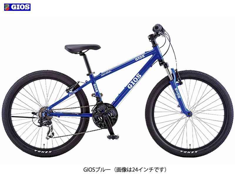 【GIOS】(ジオス)2017 GENOVA(ジェノア)22 子供用MTB【キッズマウンテンバイク】【自転車 完成車】【日時指定・代引き不可】
