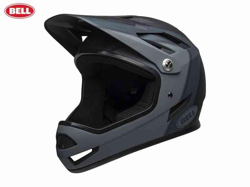 (送料無料)【BELL】(ベル)SANCTION(サンクション) <マットブラック/プレゼンス> MTBフルフェイスヘルメット BMX用(自転車)0768686160912