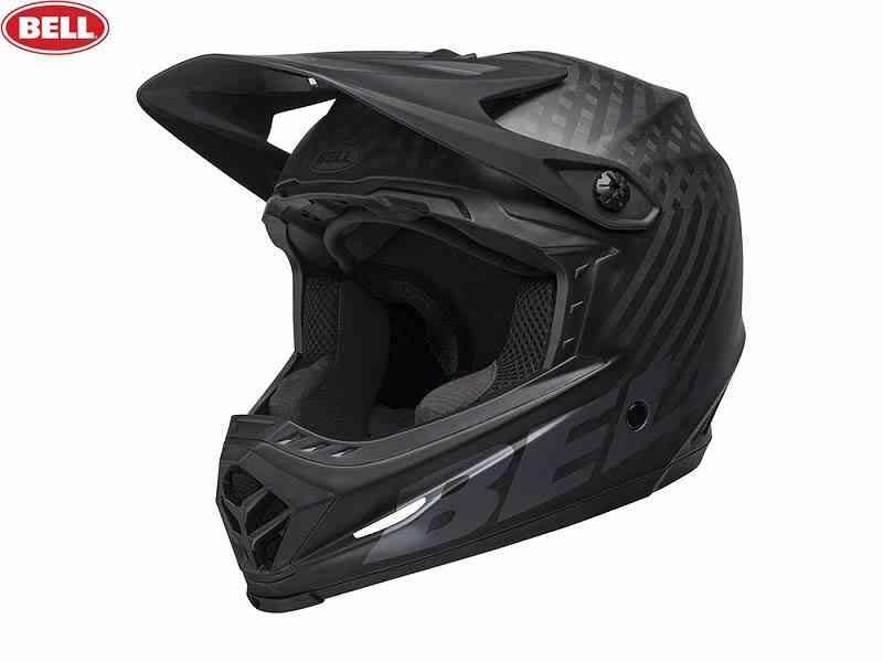 (送料無料)【BELL】(ベル)FULL9(フルナイン) <マットブラック> MTBフルフェイスヘルメット DH/BMX用(自転車)0768686163760