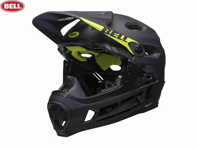 (送料無料)【BELL】(ベル)SUPER DH MIPS(スーパーDH ミップス) <マットブラック> コンバーチブルフルフェイスヘルメット(自転車)