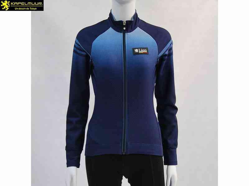 (送料無料)【LION DE KAPELMUUR】(リオン・ド・カペルミュール)Ladies コンペティションジャケットEVO2 ネイビー lijk047(自転車)