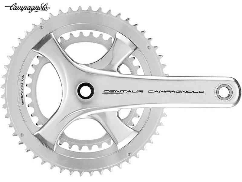 (送料無料)【CAMPAGNOLO】(カンパニョーロ)CENTAUR(ケンタウル)ウルトラトルク クランクセット{シルバー}50/34T(2x11s)(自転車), ヤチヨチョウ:10621337 --- officewill.xsrv.jp