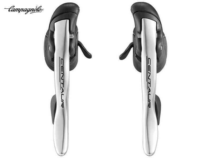 (送料無料)【CAMPAGNOLO】(カンパニョーロ)CENTAUR(ケンタウル)エルゴパワーレバー{シルバー}左右セット(2x11s)EP18-CES1C【STIレバー】(自転車)