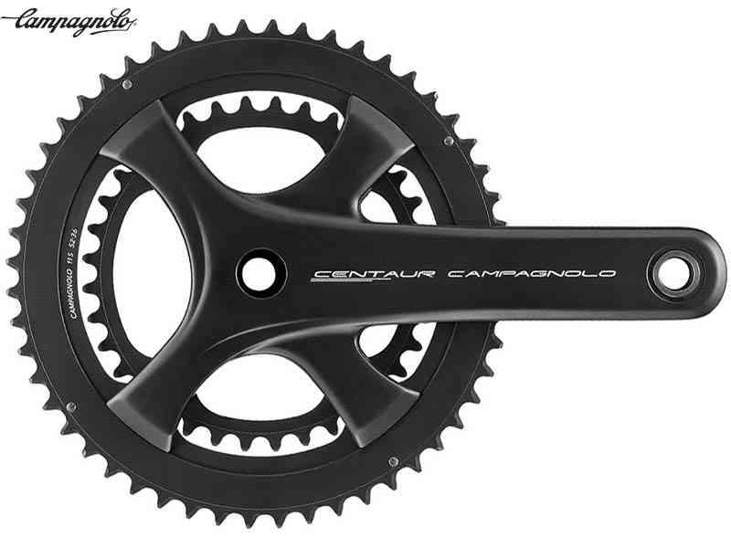 (送料無料)【CAMPAGNOLO】(カンパニョーロ)CENTAUR(ケンタウル)ウルトラトルク クランクセット{ブラック}50/34T(2x11s)(自転車)