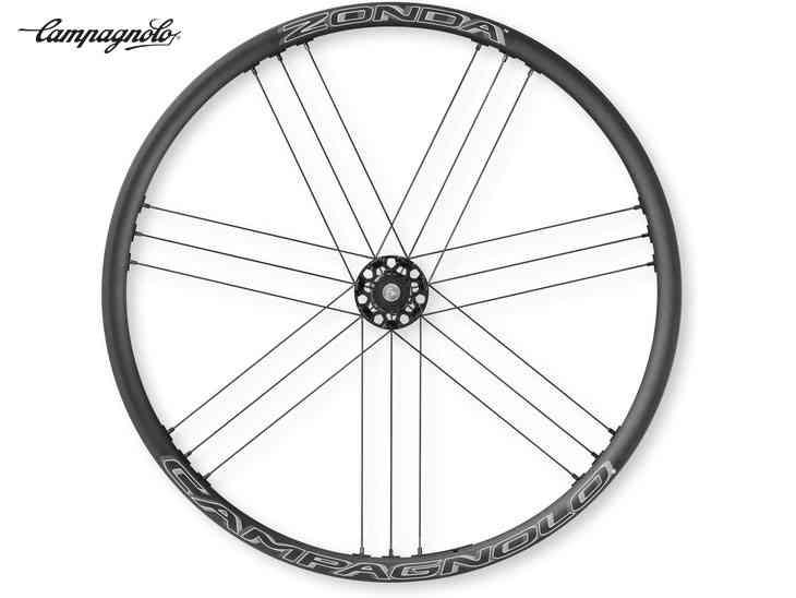 (送料無料)【CAMPAGNOLO】(カンパニョーロ)ZONDA(ゾンダ)DB(スルー/センターロック)クリンチャーホイール前後セット(シマノフリー)WH17-ZOCDFRX22A【ロードホイール】(自転車)