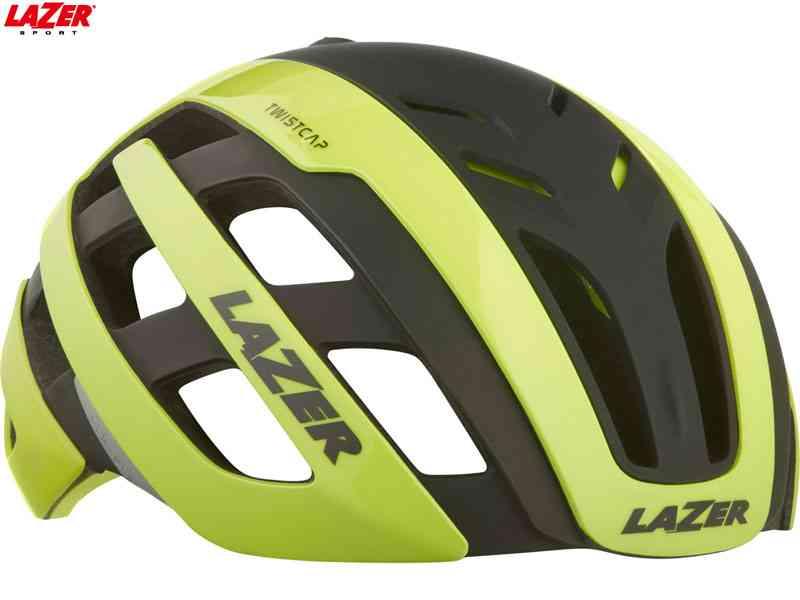 (送料無料)【LAZER】(レイザー)CENTURY AF (センチュリー アジアンフィット) <フラッシュイエローブラック> ロードヘルメット(自転車)5420078854063