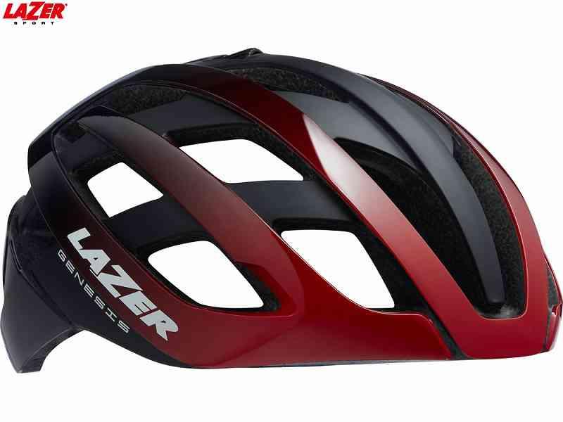 【LAZER】 (即納あり) (レイザー)GENESIS AF(ジェネシス アジアンフィット) <マットチタニウム> ロードヘルメット(自転車) (送料無料)