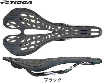 (送料無料)【TIOGA】(タイオガ)TIG スパイダー ツインテール 2 カーボン レール(サドル)(自転車)4935012038085