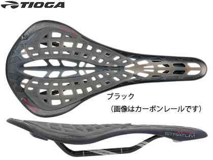 (送料無料)【TIOGA】(タイオガ)TIG スパイダー ストレイタム チタン レール(サドル)(自転車)4935012038948
