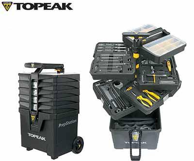 (送料無料)【TOPEAK】(トピーク)プレップステーション|TPS-03-01|【ツールセット】【工具箱】(自転車)(TOL27100) 4712511831764 TOL-27100