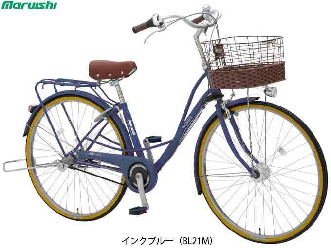 """26"""" 【MARUISHI】(丸石サイクル)プルミエール PEBP263TE ベルト ファミリーサイクル(自転車)(日時指定・代引き不可)"""