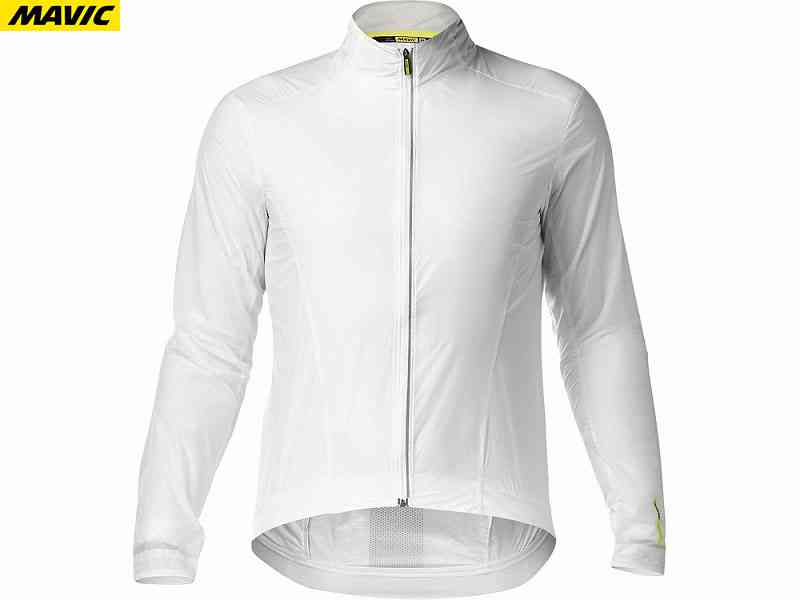 (送料無料)【MAVIC】(マビック)エッセンシャル ウィンド ジャケット <ホワイト>(自転車)