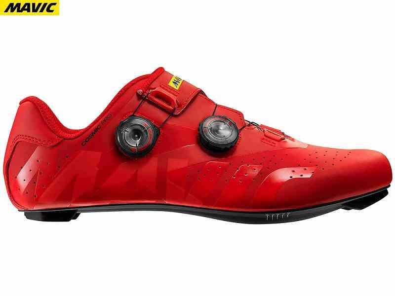 【送料無料】【MAVIC】(マビック)コスミック(COSMIC)プロ{ファイアリーレッド}(L40206200)【ロードシューズ】【フットウェア】【自転車 ウェア】2006399630017 spdシューズ
