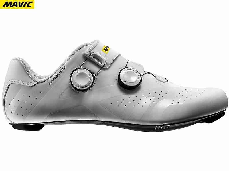 (送料無料)【MAVIC】(マビック)コスミック(COSMIC)プロ{ホワイト}(L40206400)【ロードシューズ】(フットウェア)(自転車 ウェア)2006399650015 spdシューズ
