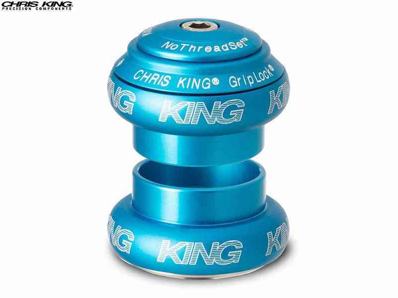 """(送料無料)【CHRIS KING】(クリスキング)NOTHREADSET(NTS)1-1/8"""" ヘッドセット MAT TURQUOISE(自転車)2006462320012"""