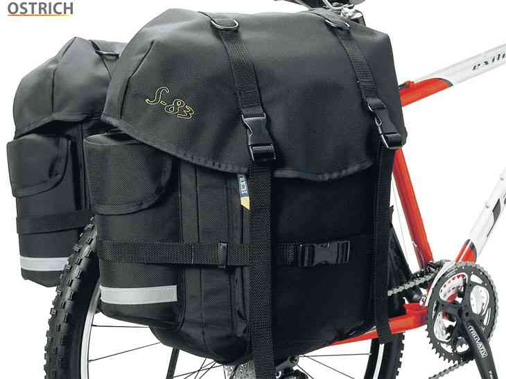 (送料無料)【OSTRICH】(オーストリッチ)S-83 サイドバッグ(左右ペア)(自転車) S83 4562163940600