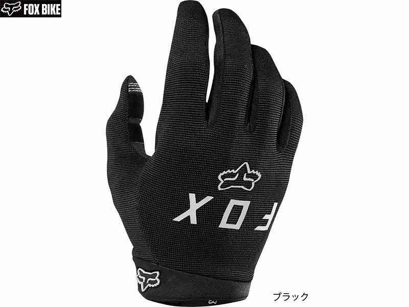 Gloves Fox Junior Ranger Black Yl
