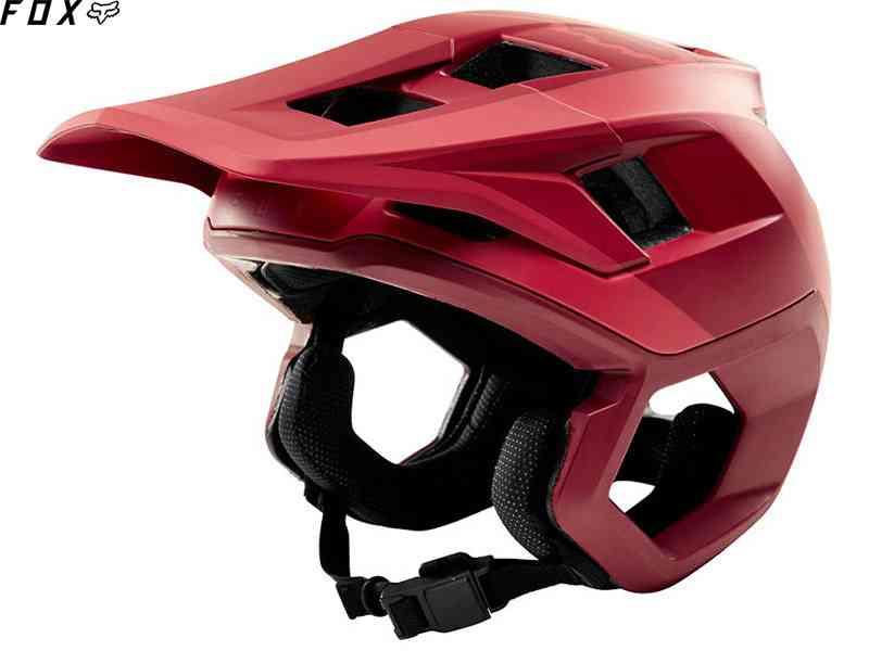 (送料無料)【FOX】(フォックス)DROPFRAME<リオレッド>ヘルメット 22197(自転車)
