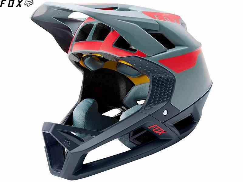 (送料無料)【FOX】(フォックス)PROFRAME QUO<クオライトブルー>ヘルメット(MIPS)25114(自転車)