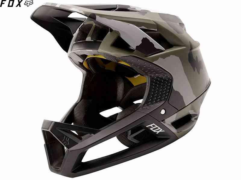 (送料無料)【FOX】(フォックス)PROFRAME CAMO<グリーンカモ>ヘルメット(MIPS)25316(自転車)
