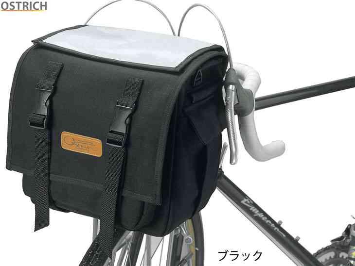(送料無料)【OSTRICH】(オーストリッチ)F-702 フロントバッグ (レインカバー付)(自転車) F702 4562163940105