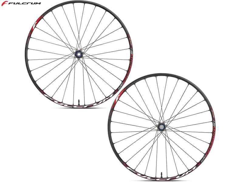 """【送料無料】【FULCRUM】(フルクラム)RED PASSION 3 27.5 MTBホイール27.5"""" 前後セット(6ボルト)【MTBホイール】【自転車 パーツ】"""