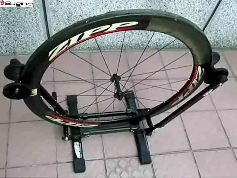(送料無料)【SUGINO】(スギノ)リムセメントリムーバー専用作業スタンド【スタンド】(自転車)