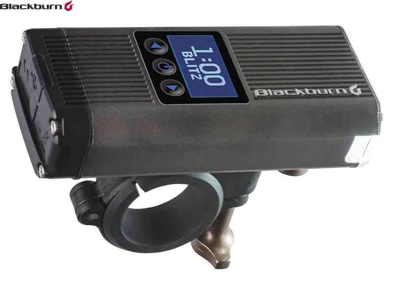 (送料無料)【黒BURN】(ブラックバーン)カウントダウン1600 フロントライト USB充電式(自転車)0768686055133 7102665