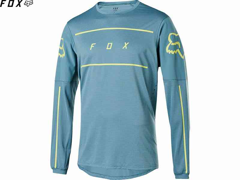 【FOX】(フォックス)FLEXAIR FINE LINE<ライトブルー>LSジャージ 22841-116(自転車)
