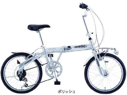 【SAKAMOTO】(サカモトテクノ)カリブーライト 20 6S オートライト 折りたたみ自転車 20-6ALFN-CLFF-AT【折りたたみ自転車】【自転車 完成車】【日時指定・代引き不可】