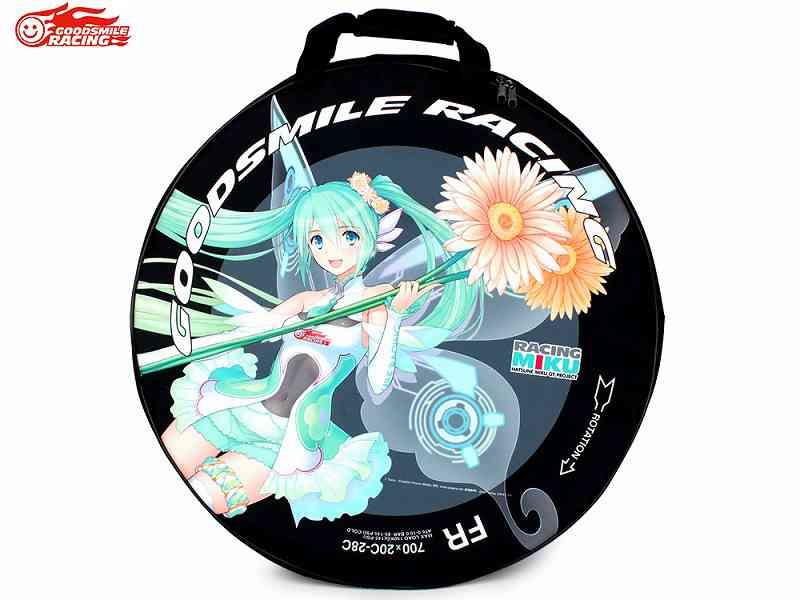 【送料無料】【GOODSMILE RACING】(グッドスマイルレーシング)ホイールバッグ TYPE-1(2本用)【自転車 アクセサリ】4571378801323