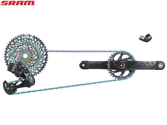 (送料無料)【SRAM】(スラム)XX1 EAGLE AXS(アクセス)MTBグループセット(1x12s)(自転車)0710845824203