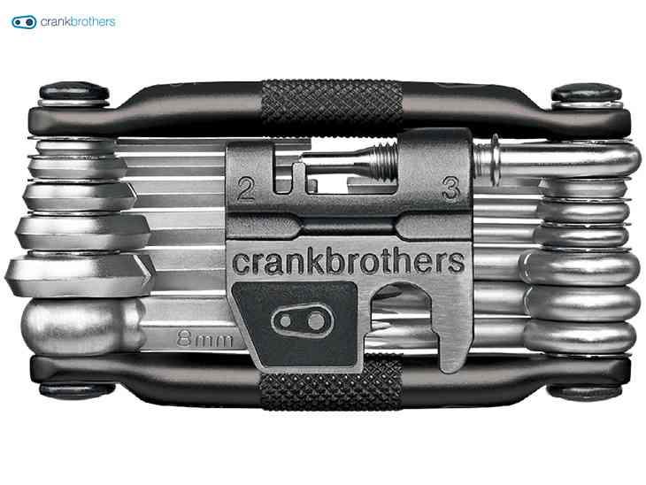 【CRANKBROTHERS】(クランクブラザーズ)M19 (マルチ19) <限定ミッドナイトブラック> 携帯ツール【自転車 アクセサリ】0641300159618