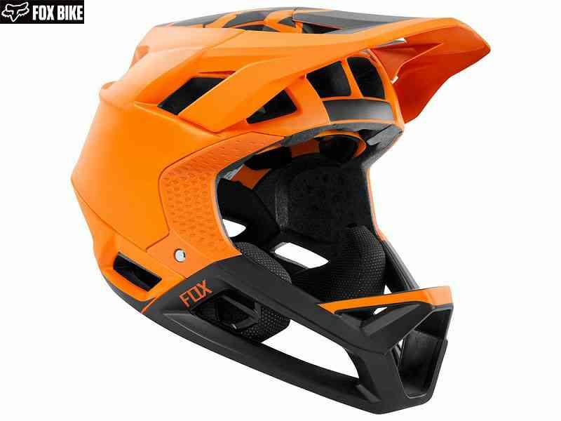 (送料無料)【FOX】(フォックス)PROFRAME<マットアトミックオレンジ>ヘルメット(MIPS)23310(自転車) 0191972150555