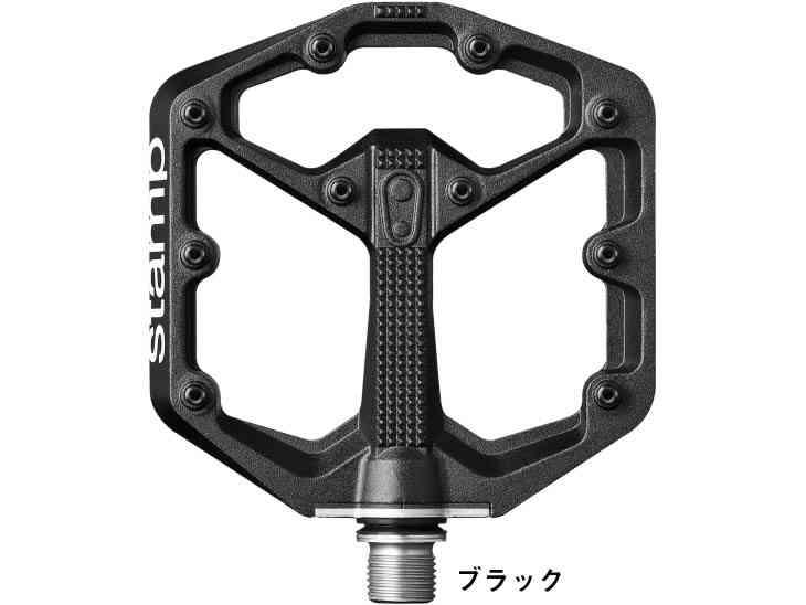 【送料無料】【CRANKBROTHERS】(クランクブラザーズ) STAMP SMALL(スタンプ スモール)<ブラック>【ペダル】【自転車 パーツ】0641300160041