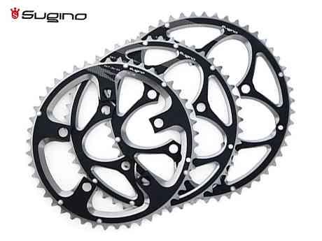 (送料無料)【SUGINO】(スギノ)EV110S チェーンリングアウター ブラック(チェーンリング)(自転車) EV-110S