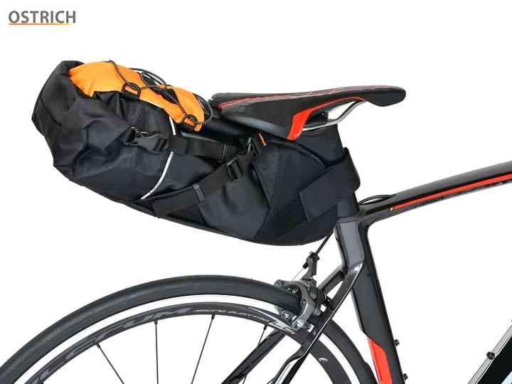 【OSTRICH】(オーストリッチ)スマートイージーパック(インナーバッグ付)限定ブラック/オレンジ(自転車)2006395930012