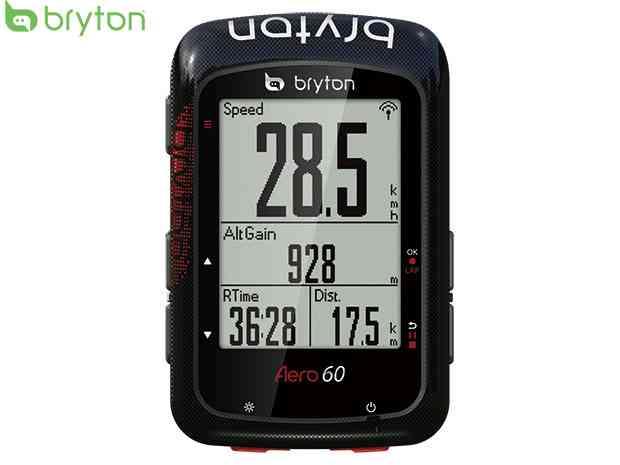 (送料無料)【bryton】(ブライトン)AERO 60E (エアロ60E) GPSサイクルコンピューター(単体:センサー類別売)【サイコン】(自転車)2006418670017