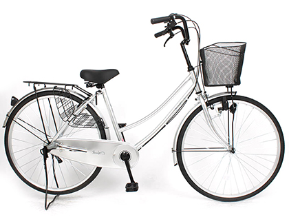 "【SAKAMOTO】(サカモトテクノ)スイングファミリー 26"" 3段 26-3F-SHED【ファミリーサイクル】【自転車 完成車】【日時指定・代引き不可】0000000049443"