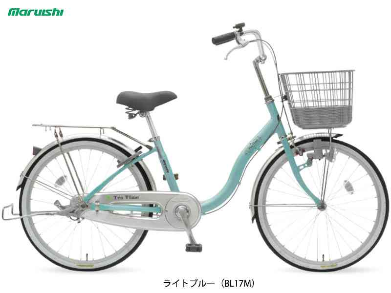 "【MARUISHI】(丸石サイクル)ティータイム ダイナモ 22"" TT22B ファミリーサイクル【ファミリーサイクル】【自転車 完成車】【日時指定・代引き不可】 TT-22B"