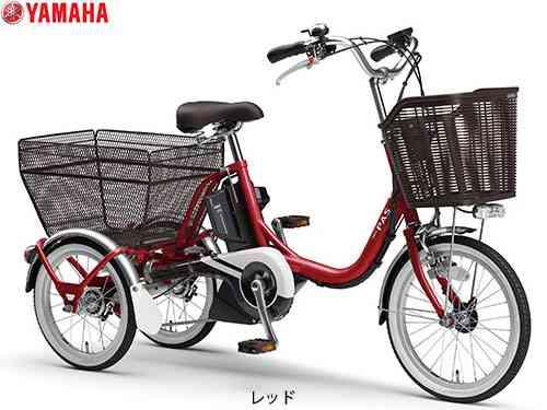 【YAMAHA】(ヤマハ)PAS ワゴン PA16W 電動アシスト三輪車【自転車 完成車】【日時指定・代引き不可】2006403690013