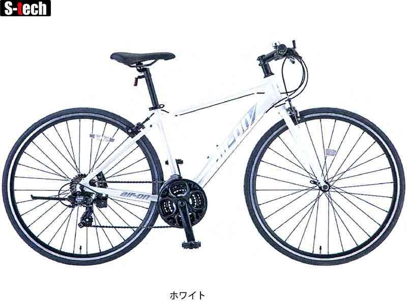 【SAKAMOTO】(サカモトテクノ)エアーオンII(3x7s)クロスバイク700C【自転車 完成車】【日時指定・代引き不可】2006412110014