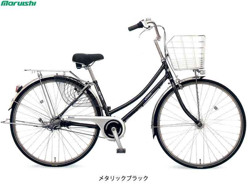 "【MARUISHI】(丸石サイクル)シャレックス ベルト Wループ 27"" SXWBP273E ファミリーサイクル(自転車)(日時指定・代引き不可)"