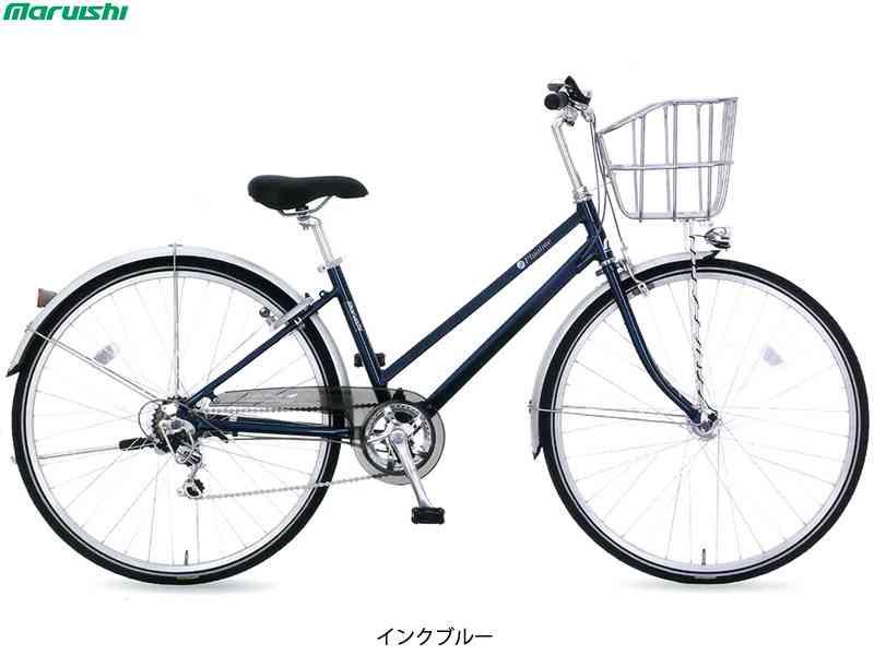 "【MARUISHI】(丸石サイクル)プルエイム 27"" PMAP276J2 シティサイクル(自転車)(日時指定・代引き不可)"