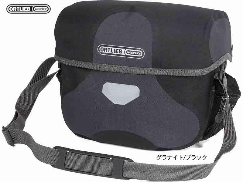 (送料無料)【ORTLIEB】(オルトリーブ)アルティメイト6 プラス/M(アタッチメント付)【フロントバッグ】(自転車)