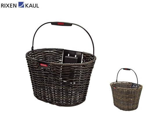 【RIXEN KAUL】(リクセンカウル)KF893 ストラクチャーオーバル(アタッチメント別売)【バスケット】【前カゴ】【自転車 アクセサリー】